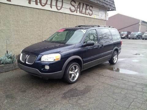 2005 Pontiac Montana SV6 for sale in Flint, MI