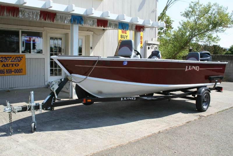 Car Paint Job Cost Estimator >> 2008 Lund 1625 Classic Ss In Rocklin CA - Cost Less Auto