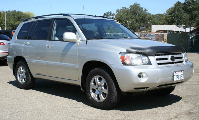 2004 toyota highlander base awd 4dr suv v6 w 3rd row in rocklin ca cost less auto. Black Bedroom Furniture Sets. Home Design Ideas