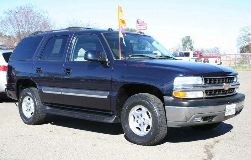 2004 chevrolet tahoe lt 4wd 4dr suv in rocklin ca cost. Black Bedroom Furniture Sets. Home Design Ideas