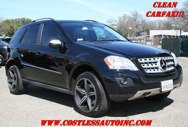 2009 mercedes benz m class ml 350 4matic awd 4dr suv in for Mercedes benz sacramento rocklin