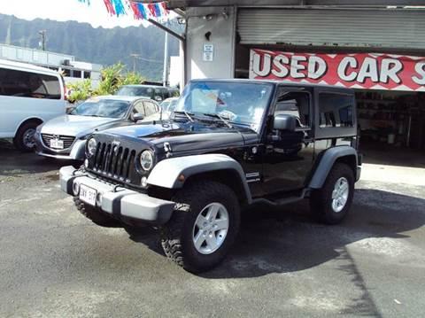 2012 jeep wrangler for sale hawaii. Black Bedroom Furniture Sets. Home Design Ideas