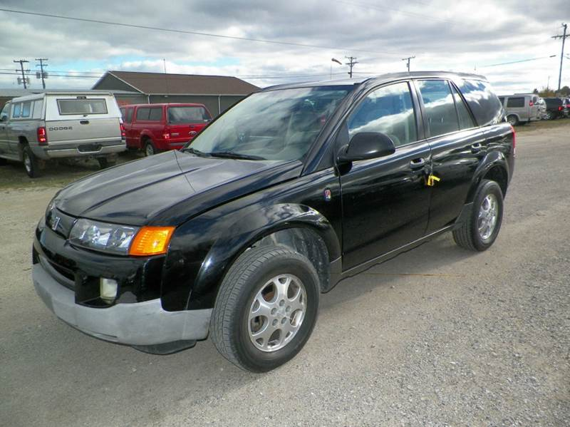 2003 SATURN VUE BASE FWD 4DR SUV V6 black anti-theft system - alarm center console cruise contr