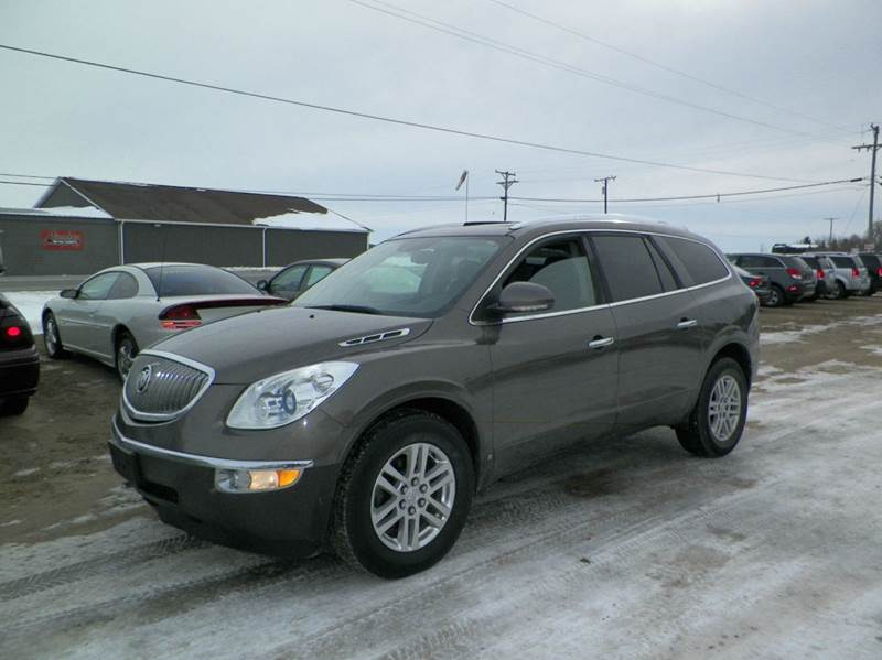 2009 BUICK ENCLAVE CX 4DR SUV brown 2-stage unlocking doors abs - 4-wheel airbag deactivation -