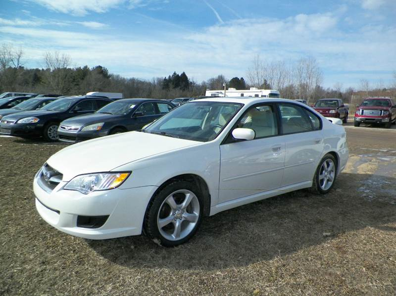2009 SUBARU LEGACY 25I SPECIAL EDITION AWD 4DR SED white 2-stage unlocking doors 4wd type - ful