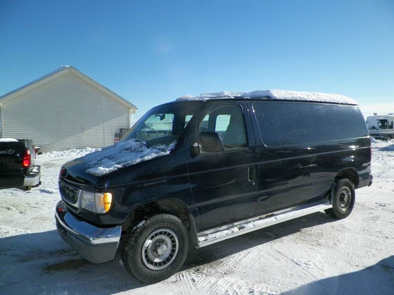 2000 ford e 150 3dr cargo van in imlay city mi orchard auto. Black Bedroom Furniture Sets. Home Design Ideas