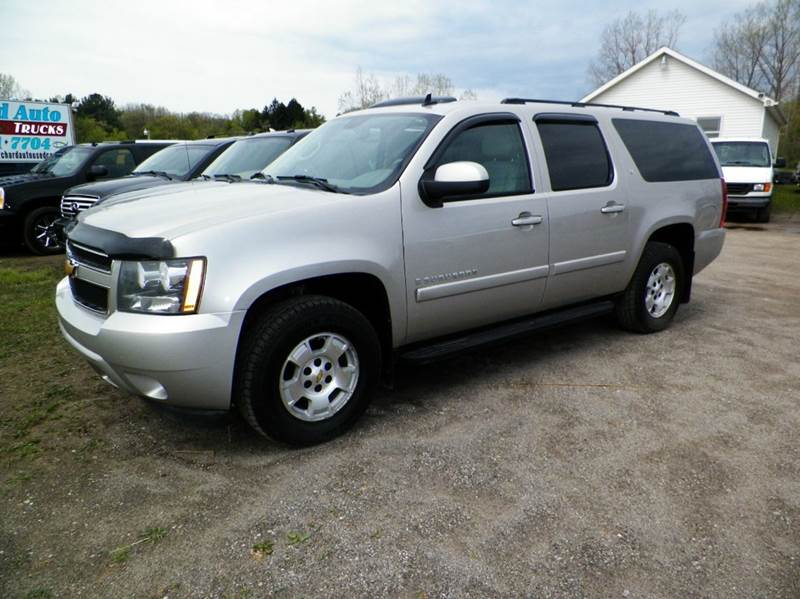 2008 CHEVROLET SUBURBAN LT 1500 4X4 4DR SUV pewter 2-stage unlocking doors 4wd type - part time
