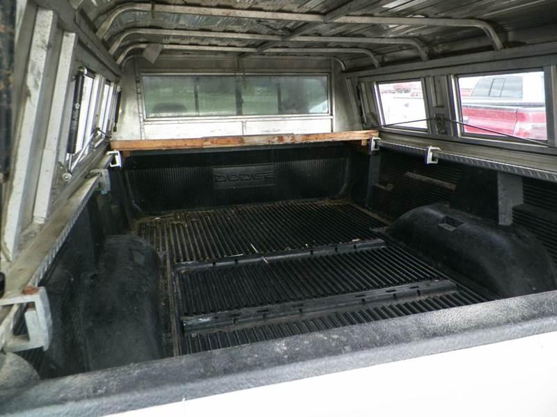 2000 Dodge Ram Pickup 2500 SLT 2dr Standard Cab LB - Imlay City MI