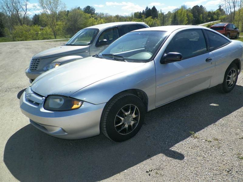 2004 Chevrolet Cavalier Base 2dr Coupe - Imlay City MI