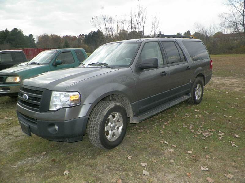 2010 FORD EXPEDITION EL XLT 4X2 4DR SUV gray this vehicle is only 2wd please be advised 2-stage