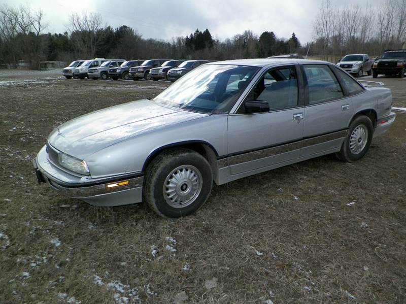 1992 BUICK REGAL LIMITED 4DR SEDAN gray abs - 4-wheel alloy wheels front air conditioning fron