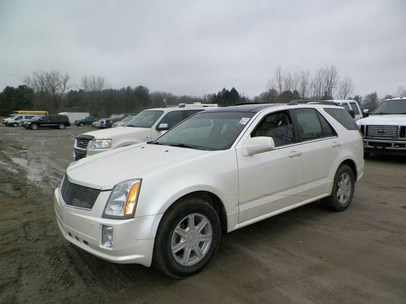 2004 CADILLAC SRX BASE AWD 4DR SUV V6 white abs - 4-wheel adjustable pedals - power anti-theft