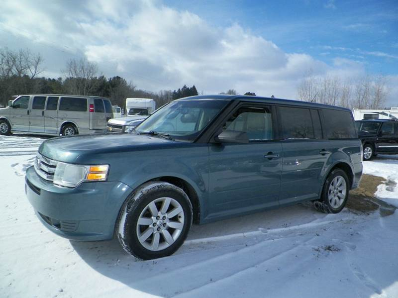 2010 FORD FLEX SE 4DR CROSSOVER blue abs - 4-wheel air filtration airbag deactivation - occupan