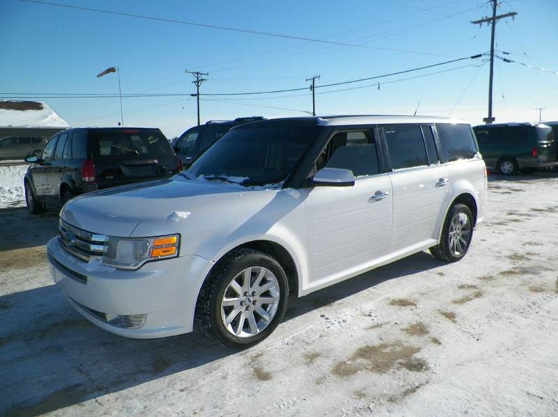 2009 FORD FLEX SEL AWD CROSSOVER 4DR white 4wd type - on demand abs - 4-wheel airbag deactivati