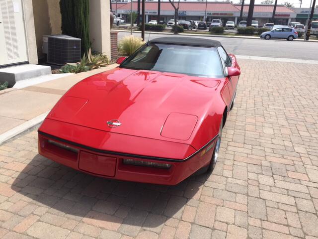 1987 Chevrolet Corvette Base 2dr Convertible - Covina CA