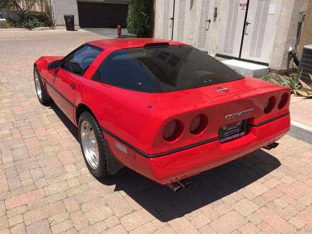 1989 Chevrolet Corvette 2dr Hatchback - Covina CA
