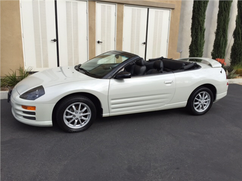2001 mitsubishi eclipse spyder for sale. Black Bedroom Furniture Sets. Home Design Ideas