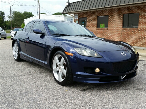 mazda rx 8 for sale raleigh nc. Black Bedroom Furniture Sets. Home Design Ideas