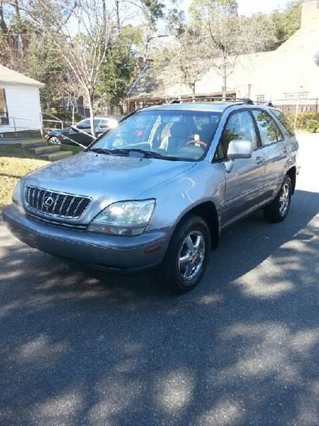 2002 LEXUS RX 300 BASE 2WD 4DR SUV blue all power equipment is functioning properly  there are no