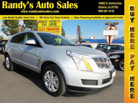 2012 Cadillac SRX for sale in Ontario, CA