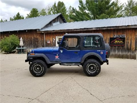 1994 Jeep Wrangler for sale in Wadena, MN