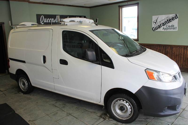2013 NISSAN NV200 S 4DR CARGO MINI VAN pearl white guaranteed financing  clean vehicle history -