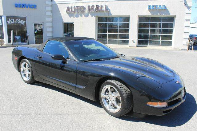 2002 CHEVROLET CORVETTE BASE 2DR CONVERTIBLE midnight black hot  heres the real deal the ultim