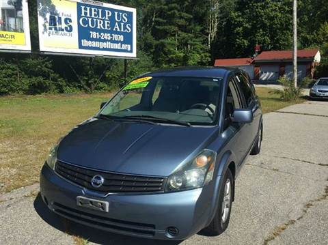 Used Nissan Quest For Sale In Massachusetts Carsforsale