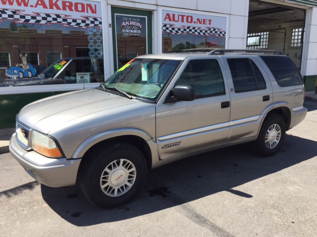2001 gmc jimmy sle 4wd 4dr suv in akron co akron auto. Black Bedroom Furniture Sets. Home Design Ideas