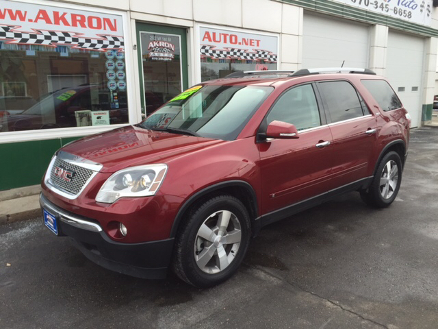 2010 gmc acadia slt 1 awd 4dr suv in akron co akron auto. Black Bedroom Furniture Sets. Home Design Ideas
