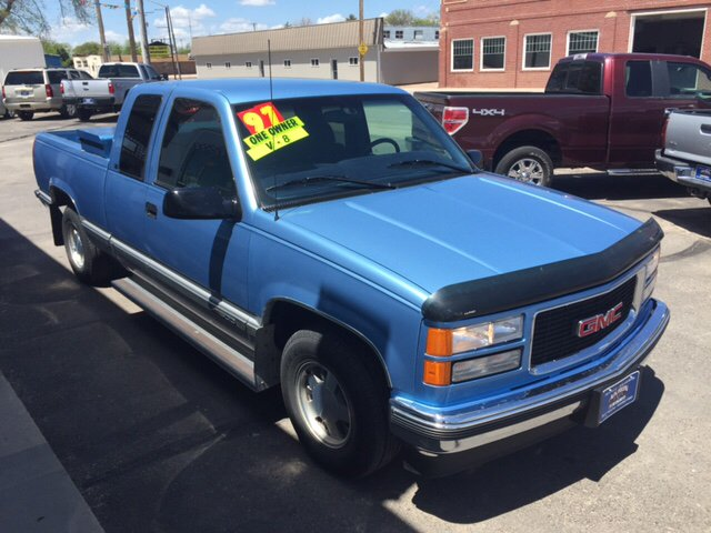 1997 gmc sierra 1500 2dr c1500 sle extended cab sb in akron co akron auto. Black Bedroom Furniture Sets. Home Design Ideas