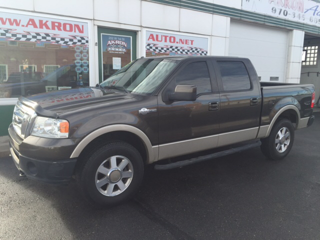 2008 ford f 150 king ranch 4x4 4dr supercrew styleside 5 5 ft sb in akron co akron auto. Black Bedroom Furniture Sets. Home Design Ideas