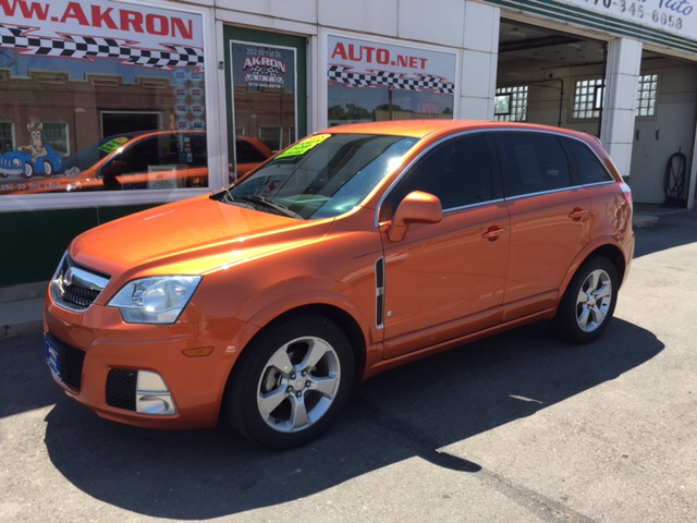 2008 saturn vue awd red line 4dr suv in akron co akron auto. Black Bedroom Furniture Sets. Home Design Ideas