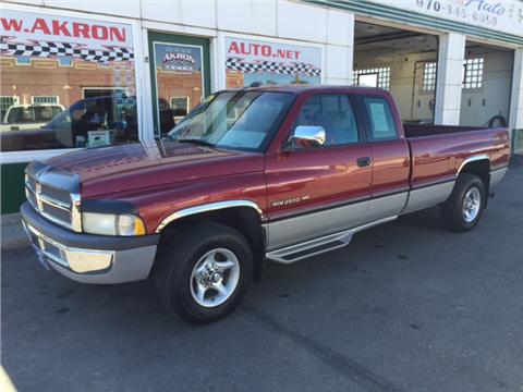 1996 dodge ram pickup 2500 for sale for Bellus motors camas washington