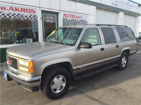 1999 GMC Suburban for sale in Akron, CO