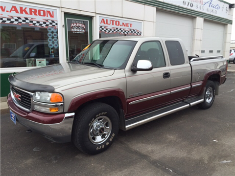 2000 GMC Sierra 2500 for sale in Akron, CO