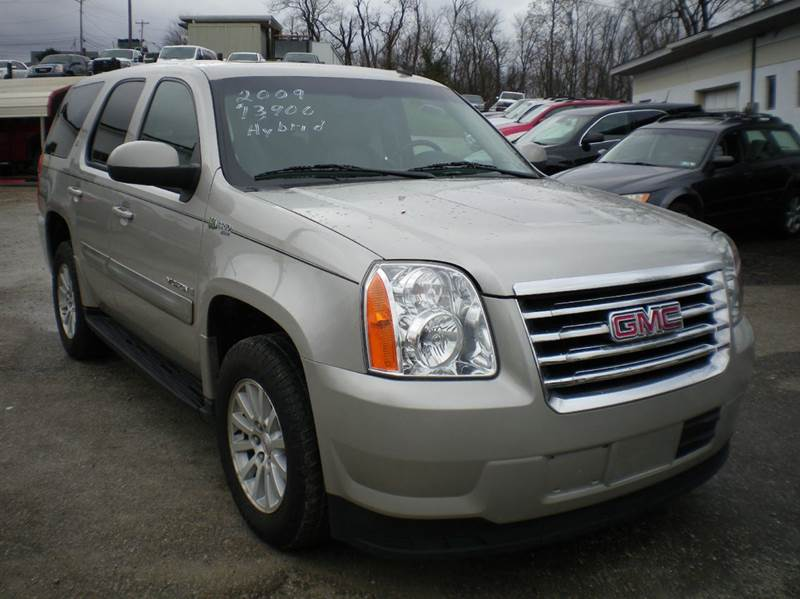 2009 gmc yukon hybrid 4x4 4dr suv in barnesville oh starrs used cars inc. Black Bedroom Furniture Sets. Home Design Ideas