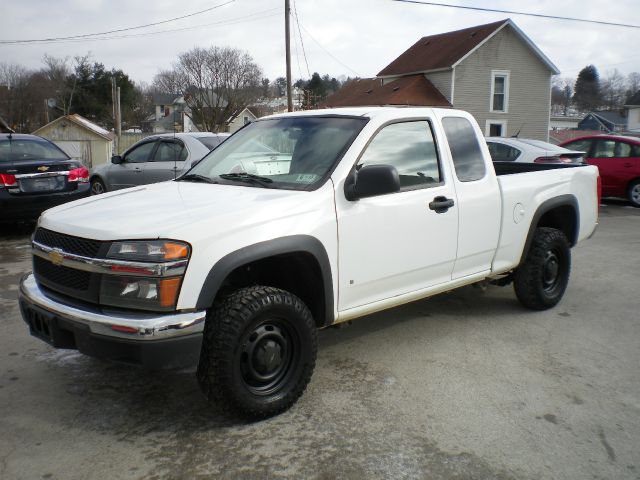 2008 Chevrolet Colorado Work Truck 4x4 Pickup Extended Cab