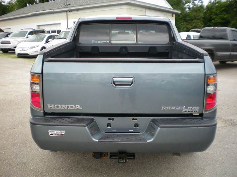2007 honda ridgeline rts awd 4dr crew cab sb in. Black Bedroom Furniture Sets. Home Design Ideas