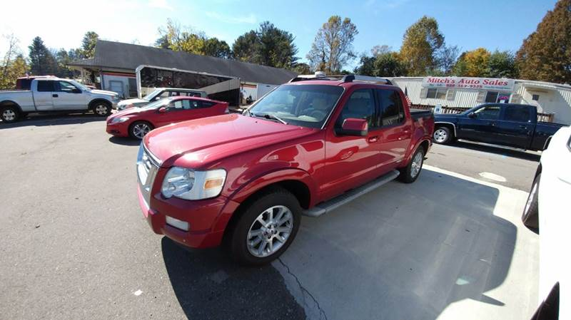 2007 Ford Explorer Sport Trac Limited 4dr Crew Cab 4WD V6 - Franklin NC