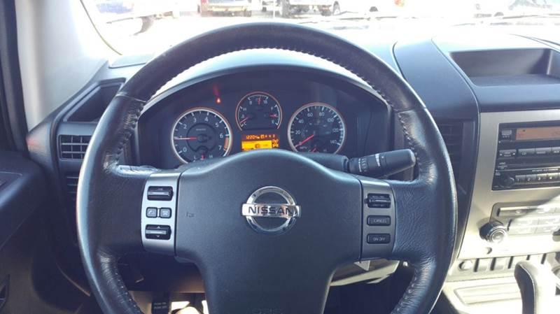 2011 Nissan Titan 4x4 SL 4dr Crew Cab SWB Pickup - Franklin NC