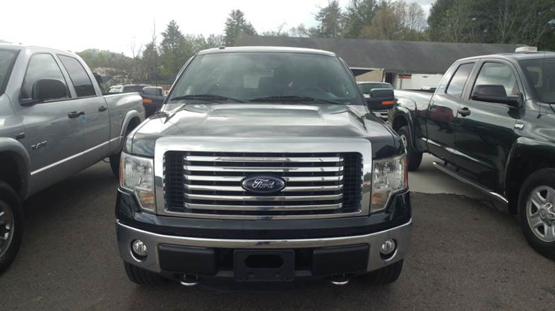 2012 Ford F-150 4x4 XLT 4dr SuperCab Styleside 6.5 ft. SB - Franklin NC