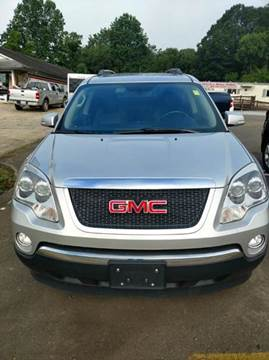 2012 GMC Acadia for sale in Franklin, NC