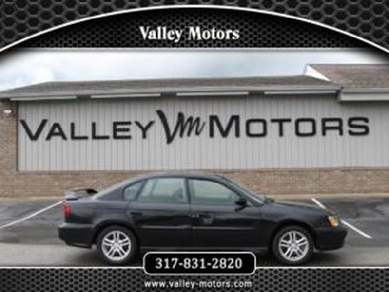 Subaru Legacy AWD GT Dr Sedan In Mooresville IN Valley - Subaru valley motors