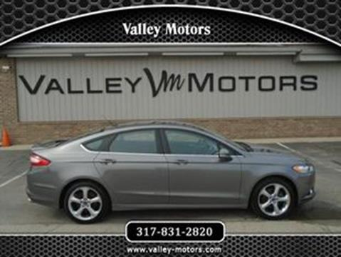 2013 Ford Fusion for sale in Mooresville, IN