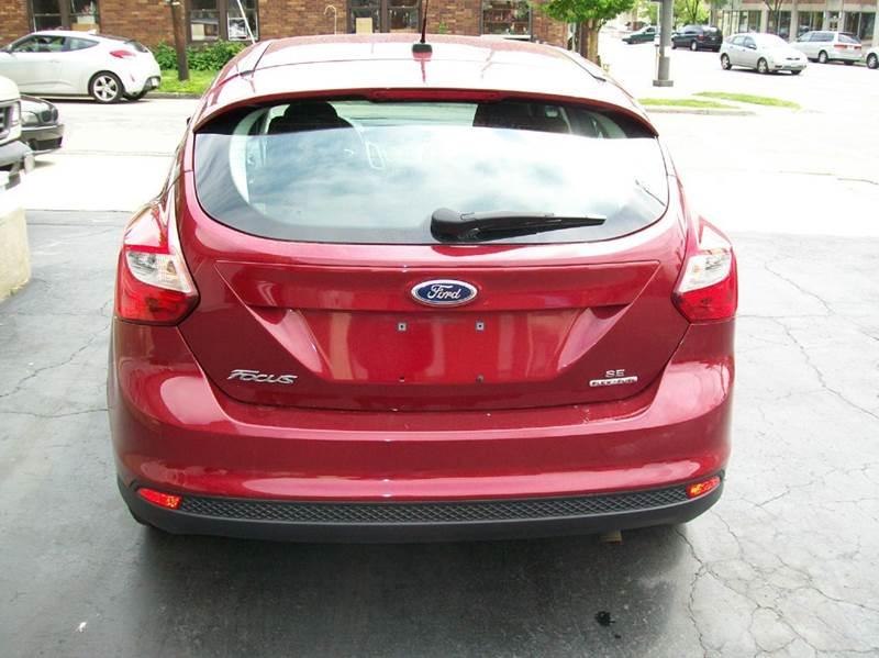 2013 Ford Focus SE 4dr Hatchback - Columbus OH