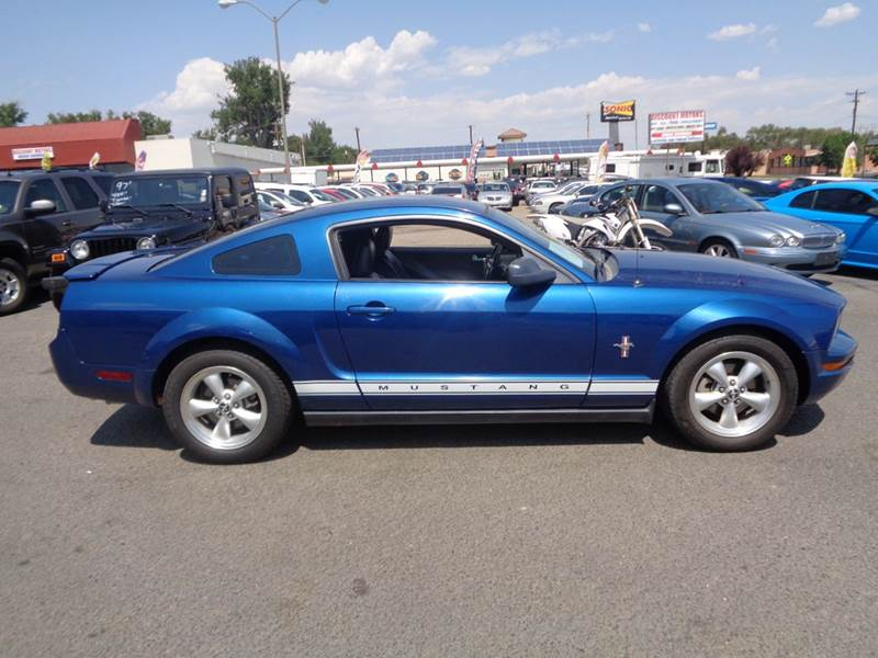 2007 ford mustang v6 premium 2dr coupe in pueblo co for Discount motors pueblo co