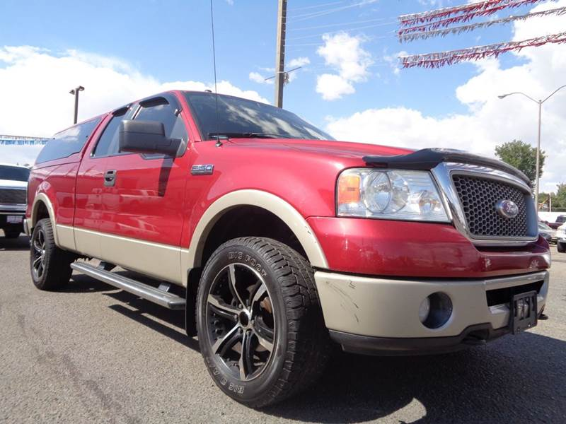 2007 ford f 150 xlt 4dr supercrew 4wd styleside 6 5 ft sb for Discount motors pueblo co