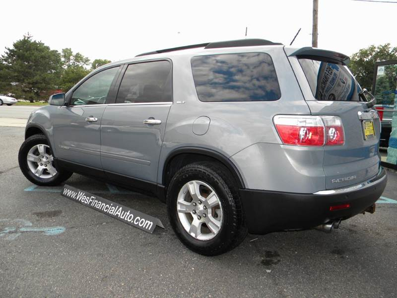 2008 gmc acadia slt 1 4dr suv in dearborn heights mi wes financial auto group. Black Bedroom Furniture Sets. Home Design Ideas