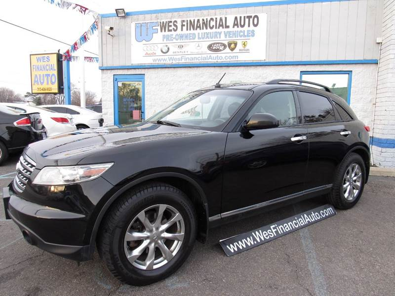 2007 infiniti fx35 awd 4dr suv in dearborn heights mi. Black Bedroom Furniture Sets. Home Design Ideas